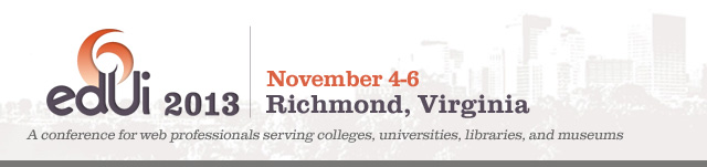 edUi 2012 - Richmond, VA